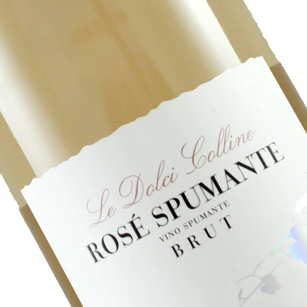 Le Dolci Colline N.V. Rose Spumante Brut Sparkling Wine, Italy