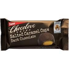 Chocolove Salted Caramel Cups in Dark Chocolate