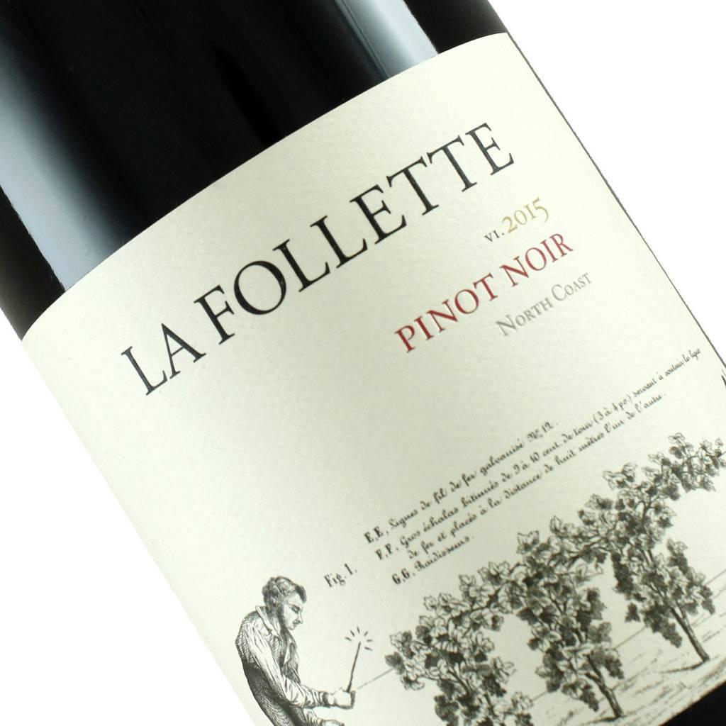 La Follette 2015 Pinot Noir, North Coast