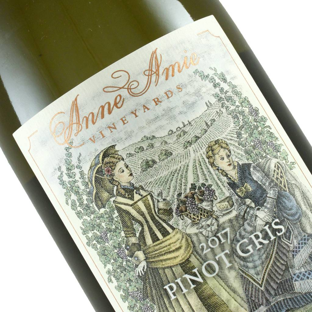 Anne Amie 2017 Pinot Gris Willamette Valley, Oregon