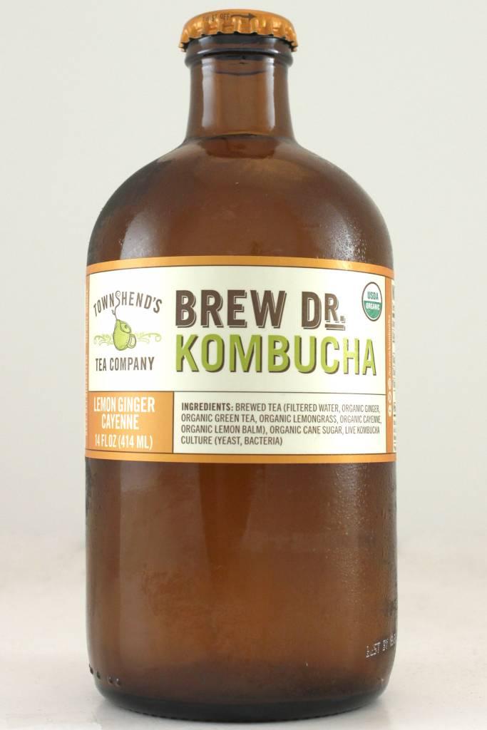 "Brew Dr. Kombucha ""Lemon Ginger Cayenne"""