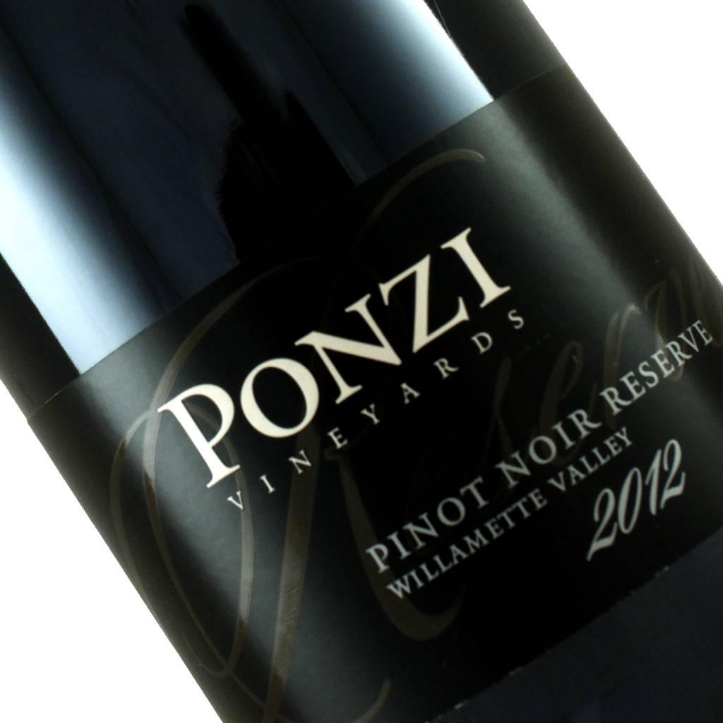 Ponzi 2012 Pinot Noir Williamette Valley
