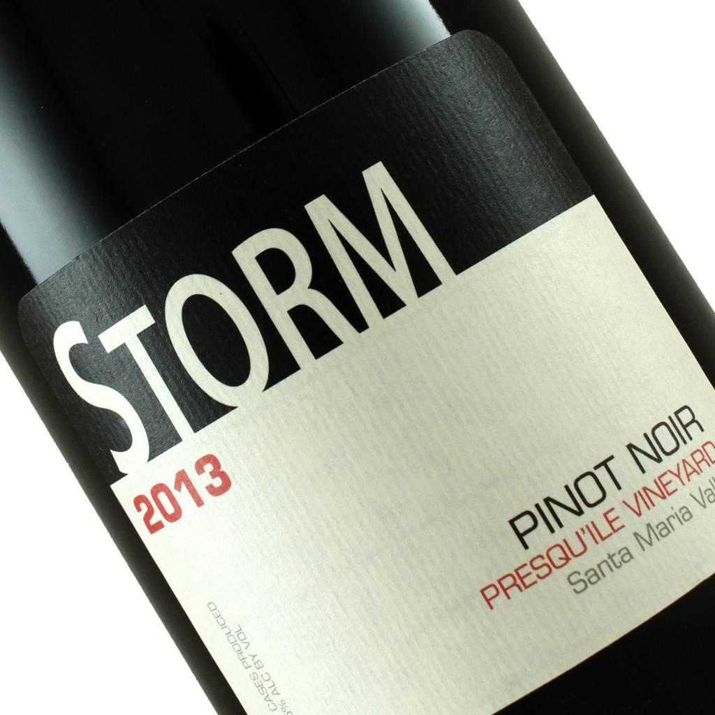 Storm 2013 Pinot Noir Presqu'ile Vineyard, Santa Maria Valley