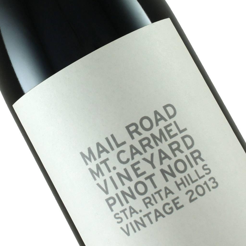 Mail Road 2013 Pinot Noir Mt. Carmel Vineyard, Sta. Rita Hills