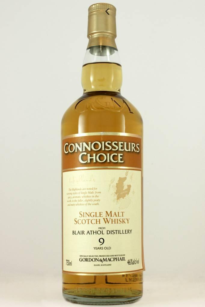 Gordon & MacPhail Blair Athol Distillery 9 Year Highlands Single Malt Scotch Whisky