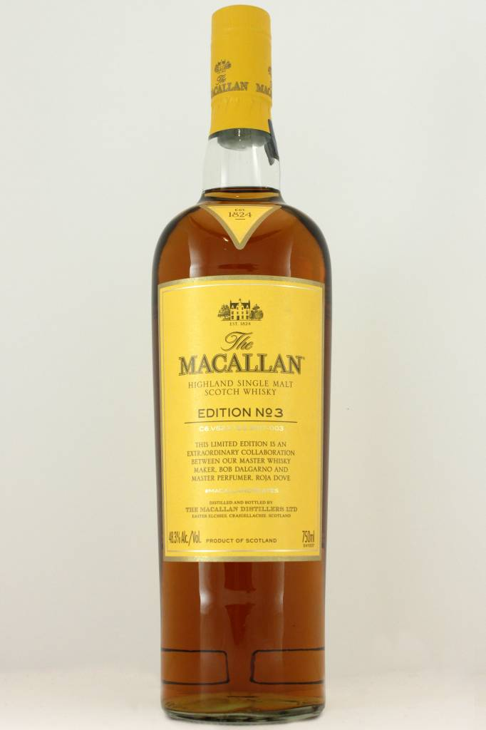 Macallan Edition No. 3 Single Malt Scotch Whisky - 96 Proof
