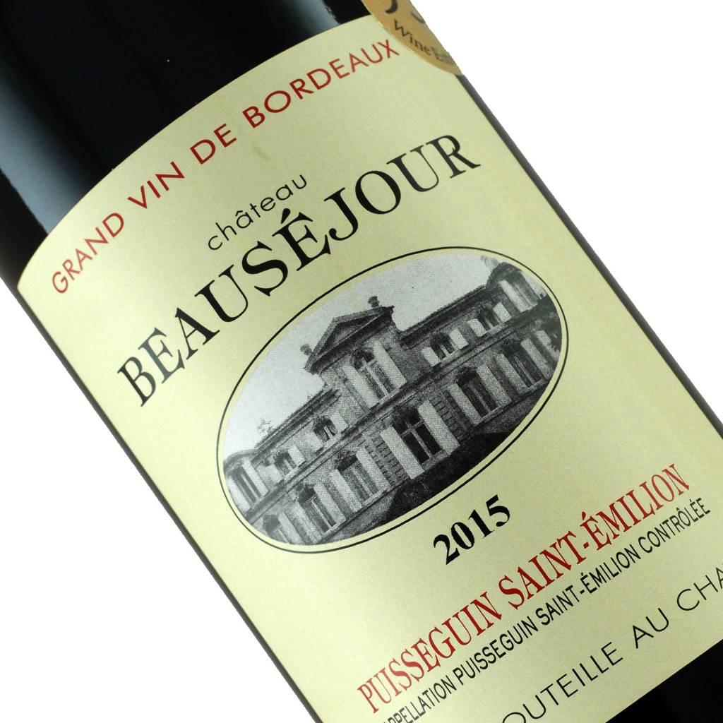 Chateau Beausejour 2015 Puisseguin Saint-Emilion, Burgundy