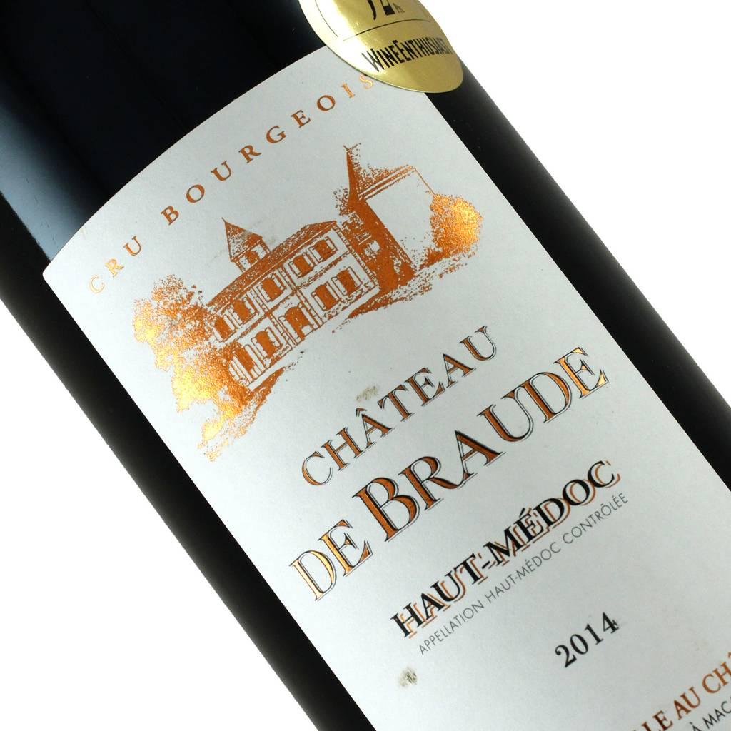 Chateau De Braude 2014 Haut-Medoc Cru Bourgeois, Bordeaux
