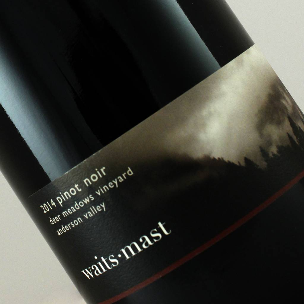 Waits-Mast 2014 Pinot Noir Deer Meadows Vineyard, Anderson Valley