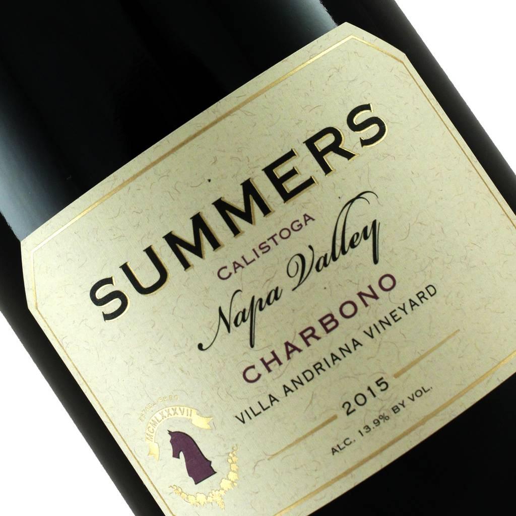 Summers Estate 2015 Charbono