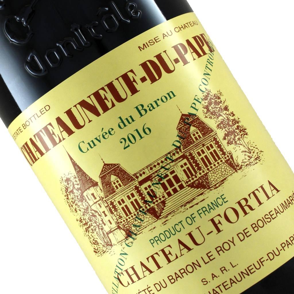 "Chateau-Fortia 2016 Chateauneuf-Du-Pape ""Cuvee du Baron"", Rhone"