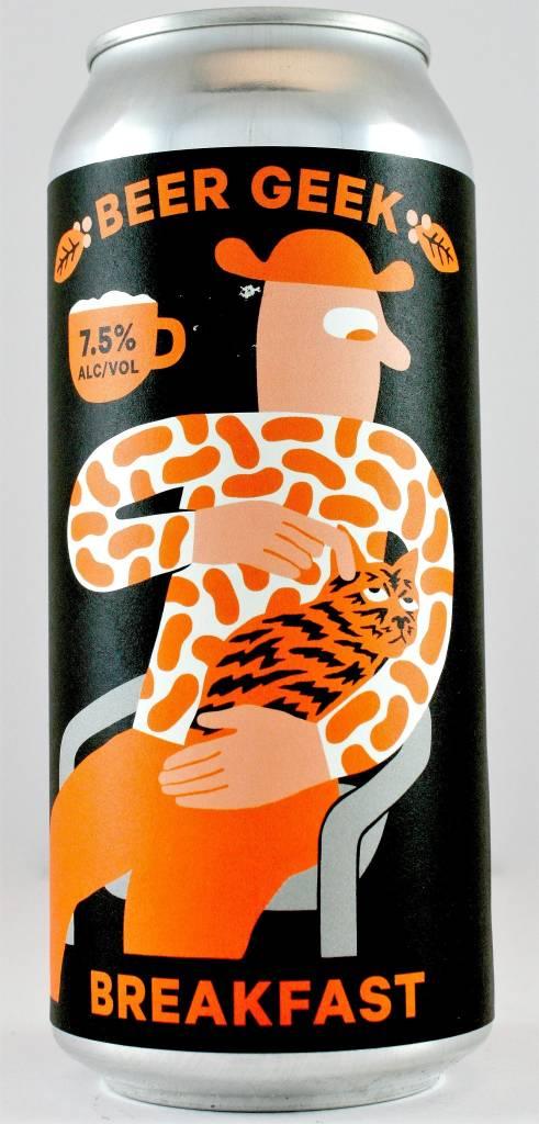 "Mikkeller ""Beer Geek Breakfast"" Stout with Coffee, California - 16oz can"