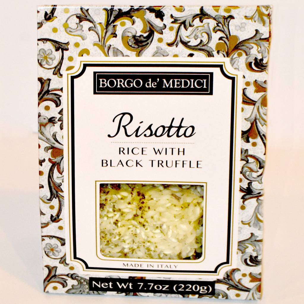 Borgo de' Medici Risotto Rice with Black Truffle, Italy