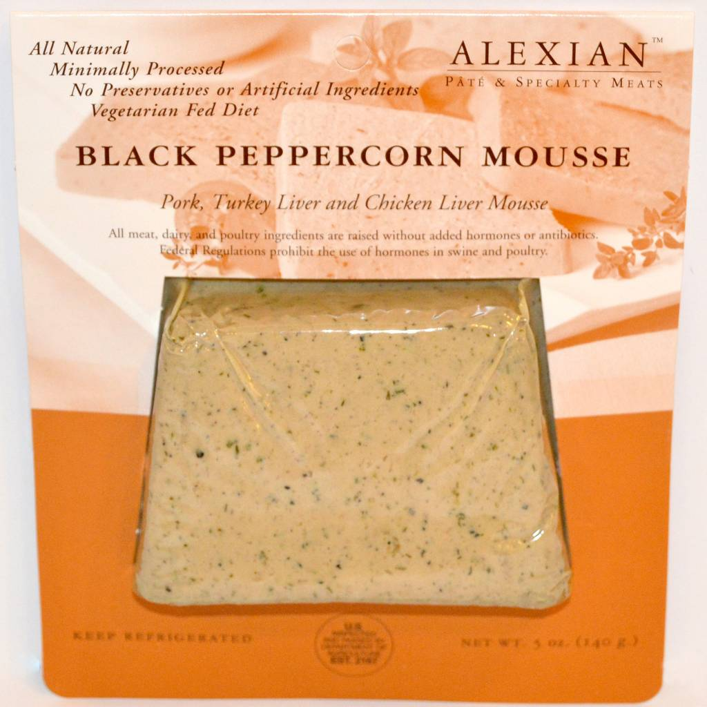 Alexian Pate - Black Pepper Mousse