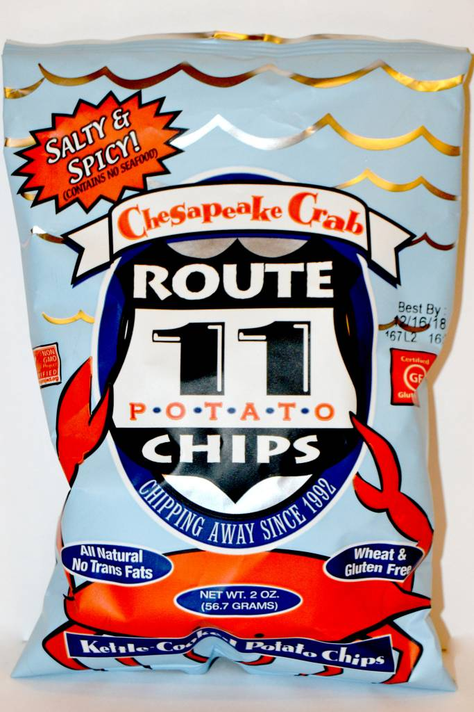 Route 11 Chesapeake Crab Potato Chips Small Bag