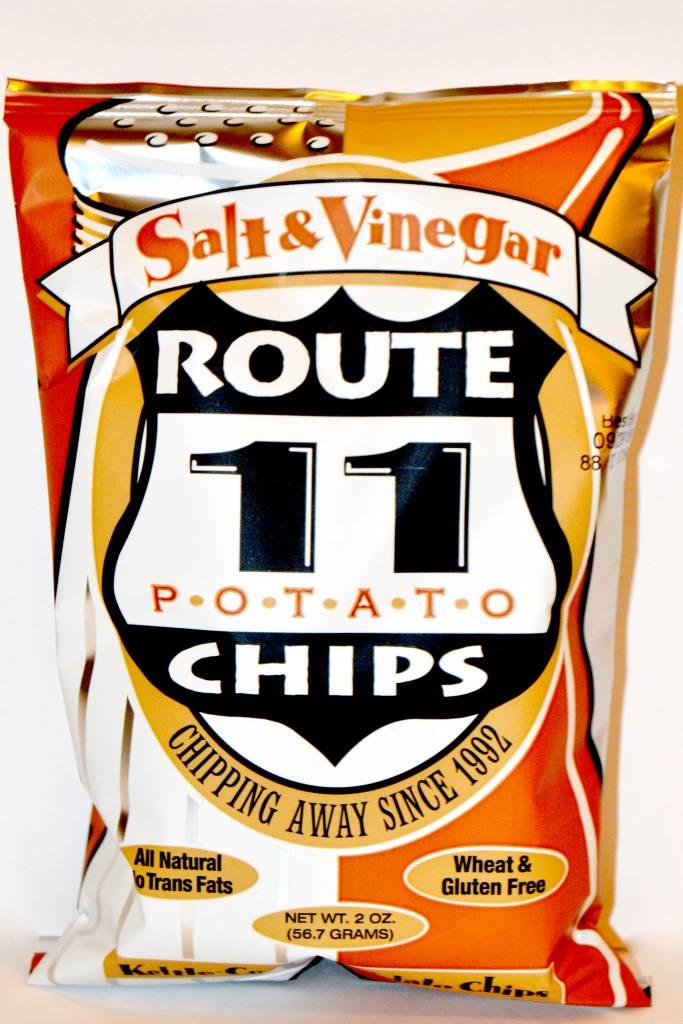 Route 11 Salt Vinegar Potato Chips Small Bag
