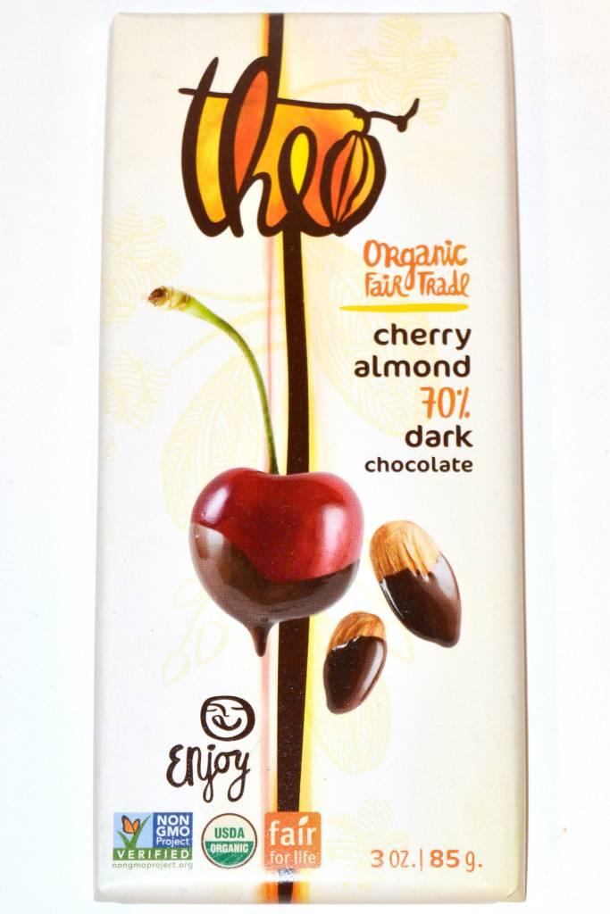 Theo Cherry Almond 70% Dark Chocolate Bar, Seattle