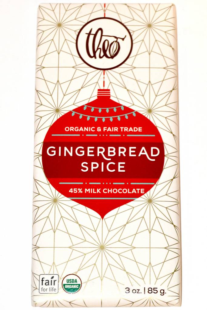 Theo Gingerbread Spice 45% Milk Chocolate, Seattle
