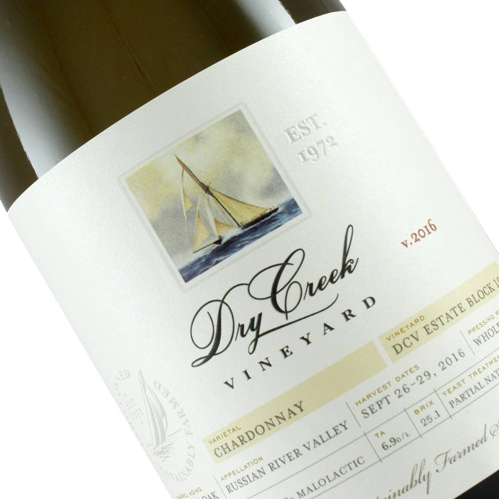 Dry Creek 2016 Chardonnay Estate Block 10, Russian River Valley