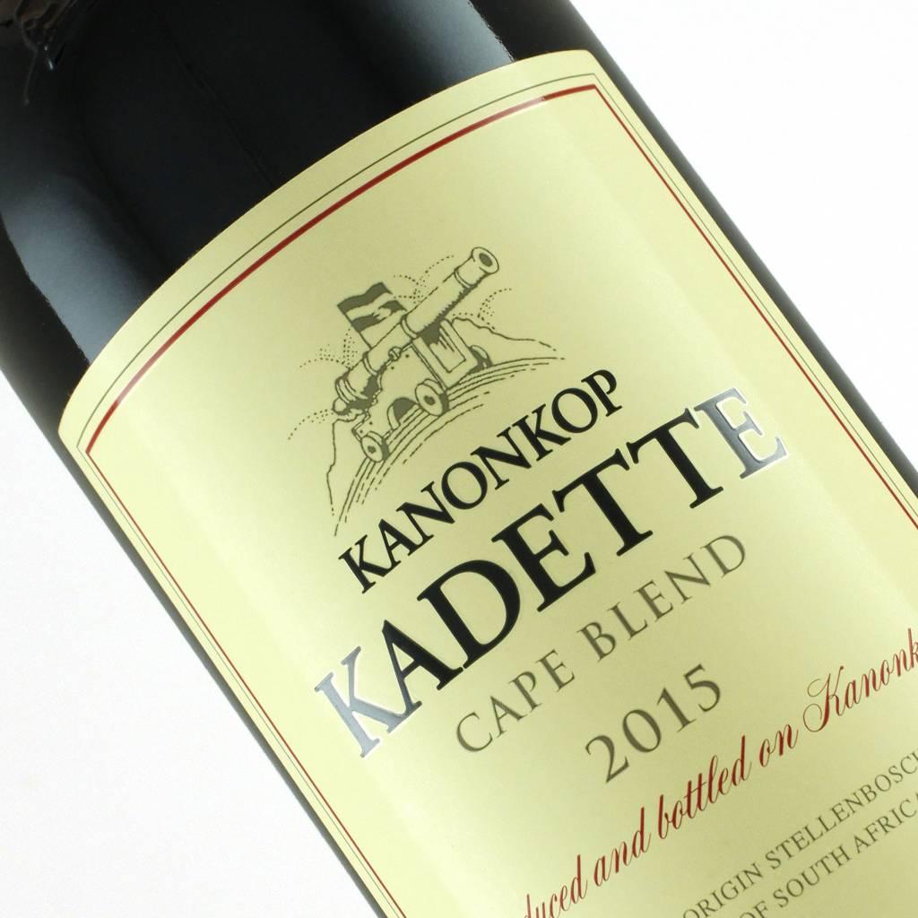 """Kanonkop 2015 """"Kadette"""" Cape Blend Stellenbosch, South Africa"""