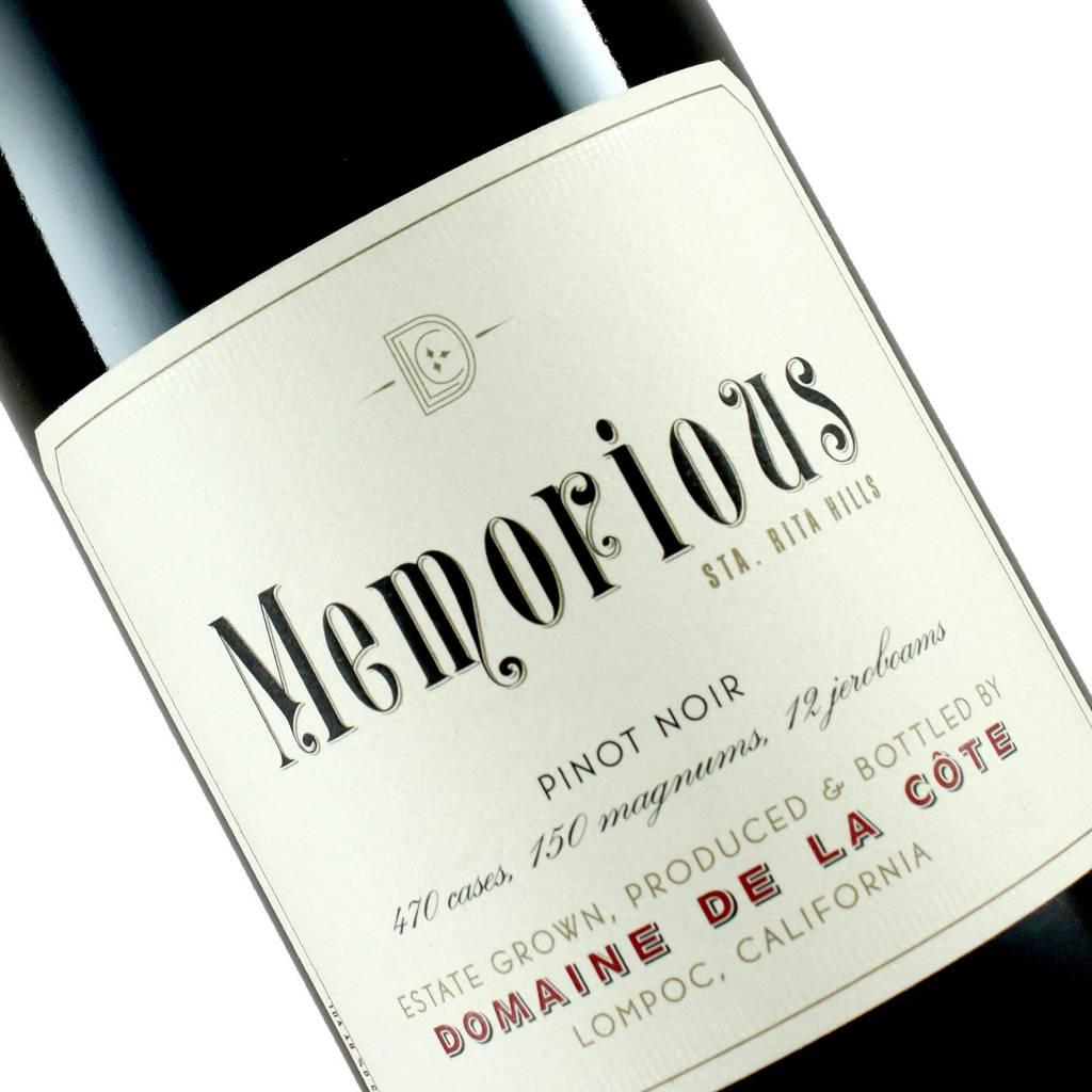 """Domaine De La Cote 2014 Pinot Noir """"Memorious"""" Sta. Rita Hills"""