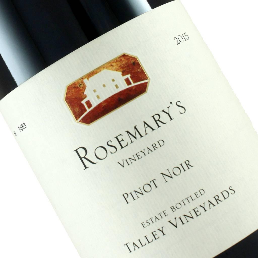 Talley 2015 Estate Pinot Noir Rosemary's Vineyard, Arroyo Grande Valley, California