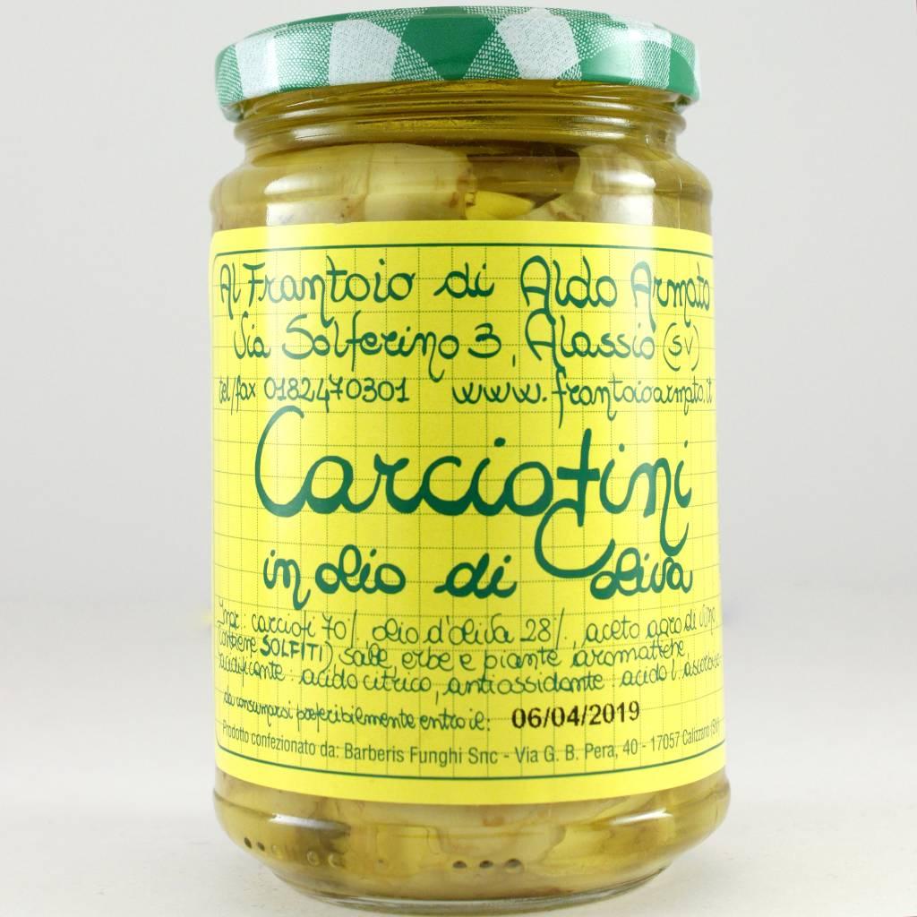 Armato Artichokes in Olive Oil, Liguria, Italy