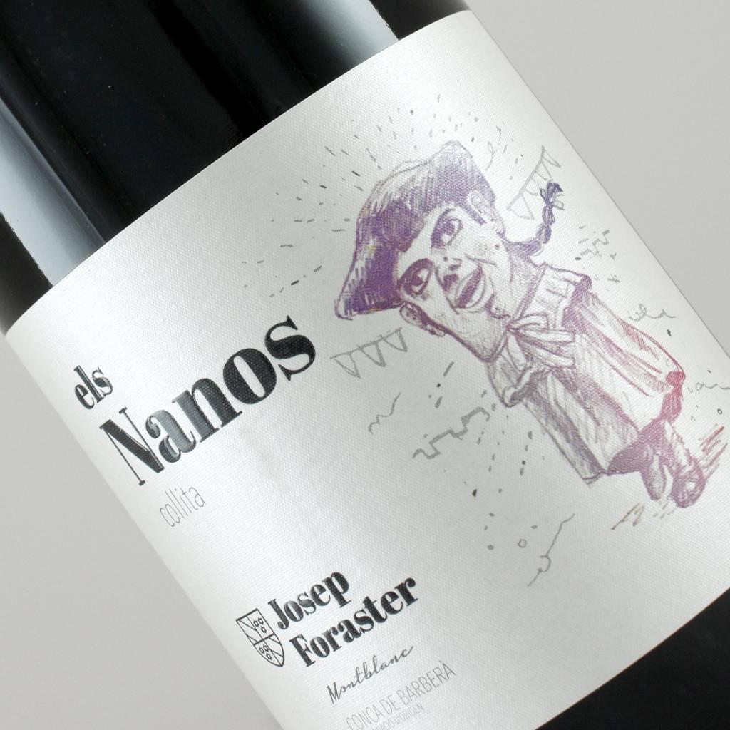 Mas Foraster 2016  Els Nanos Collita, Conca de Barbera Spain