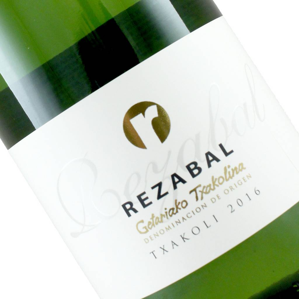 Rezabal 2016 Getariako Txakolina Txakoli, Spain
