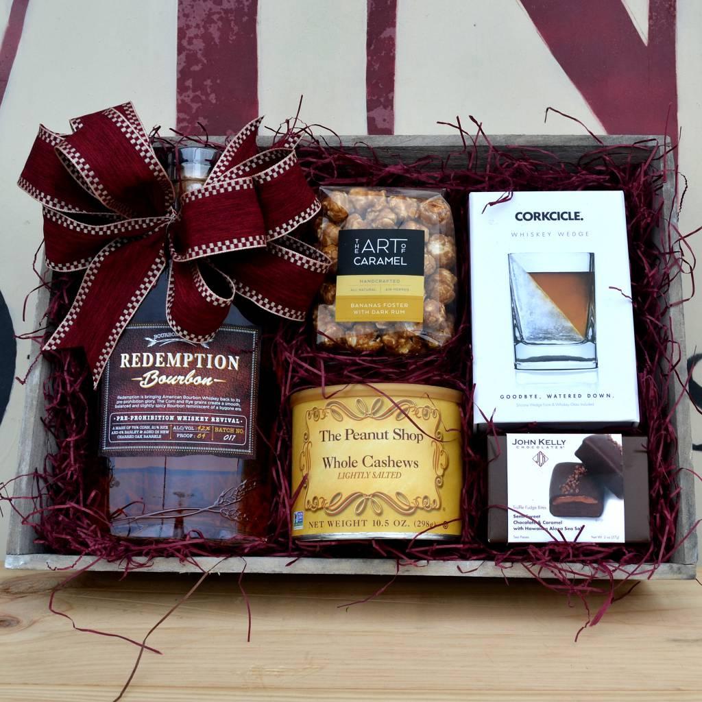 Redemption Kentucky Bourbon Gift Basket