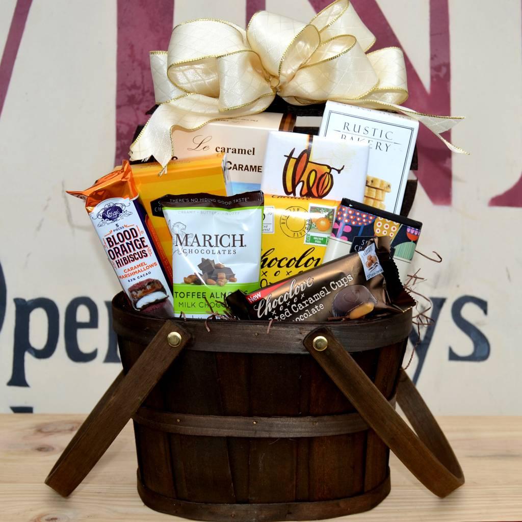 The Chocoholic Gift Basket
