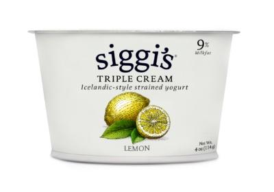 Siggi's Triple Cream Lemon Yogurt