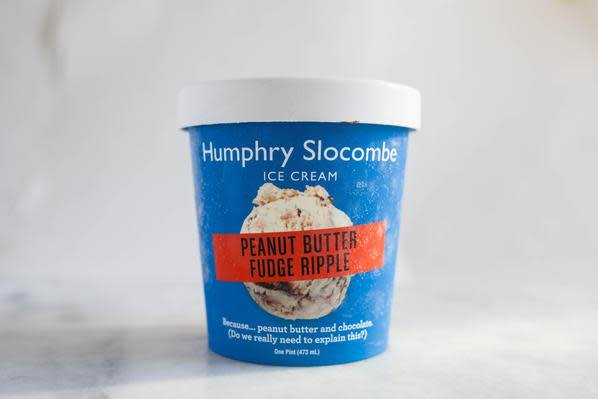 Humphry Slocombe Peanut Butter Fudge Ripple Ice Cream Pint, San Francisco