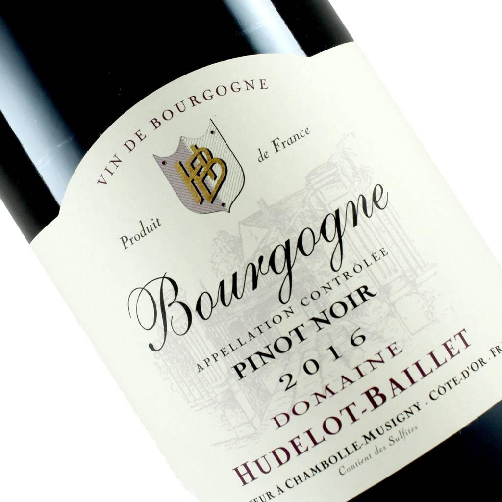 Hudelot-Baillet 2016 Bourgogne Pinot Noir, Burgundy