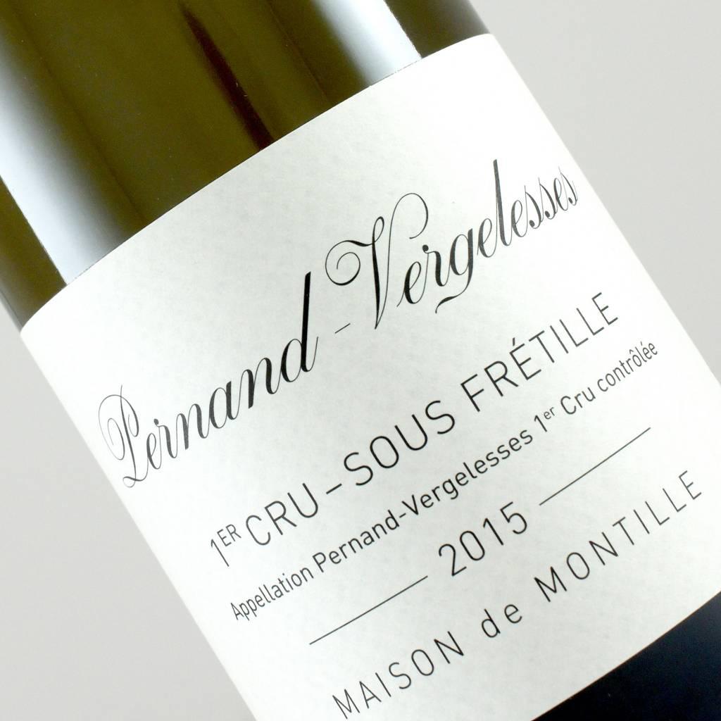 Montille 2015 Pernand-Vergelesses 1er Cru Sous Fretille, Burgundy