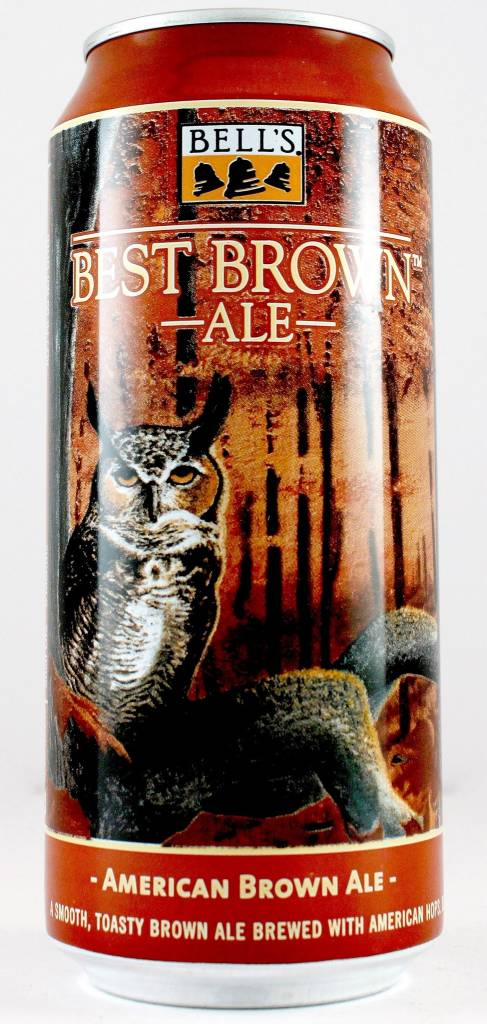 """Bell's Brewery """"Best Brown"""", Michigan - 16oz can"""
