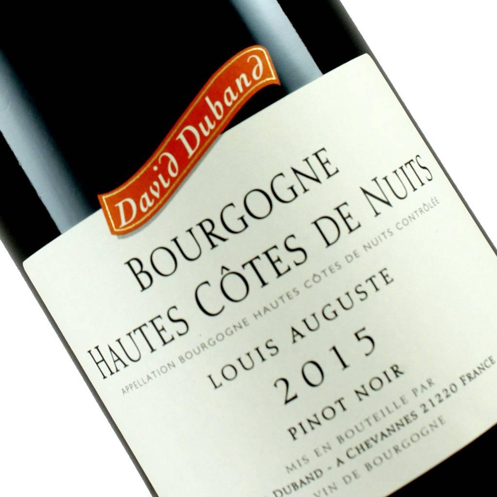 """David Duband 2015 Bourgogne Hautes Cotes De Nuits """"Louis Auguste"""" Burgundy"""