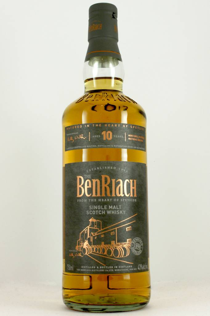 The BenRiach Single Malt Scotch Whisky Aged 10 Years