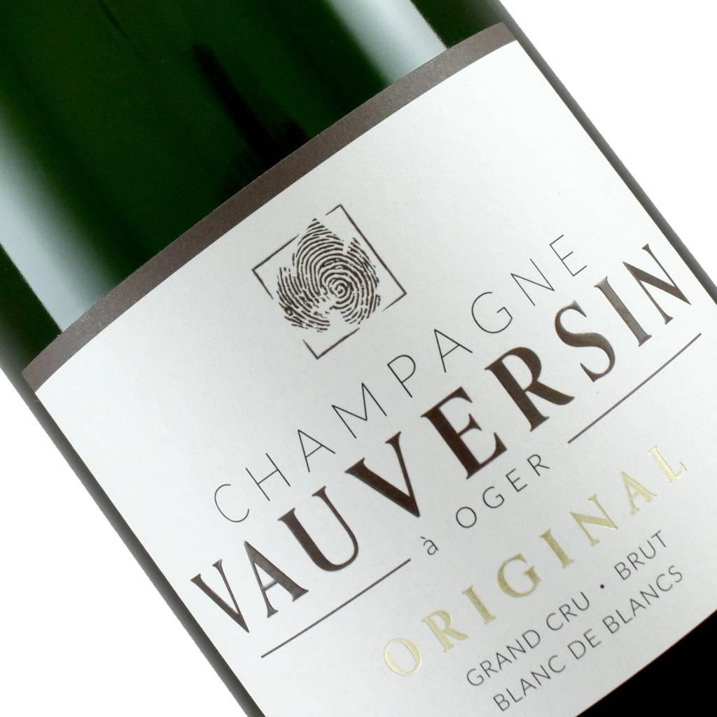 Vauversin Brut Original Champagne Grand Cru Blanc De Blancs, Oger
