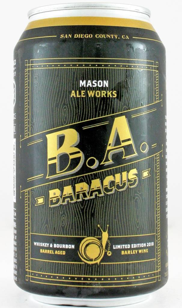 "Mason Ale Works ""B. A. Baracus"", California"