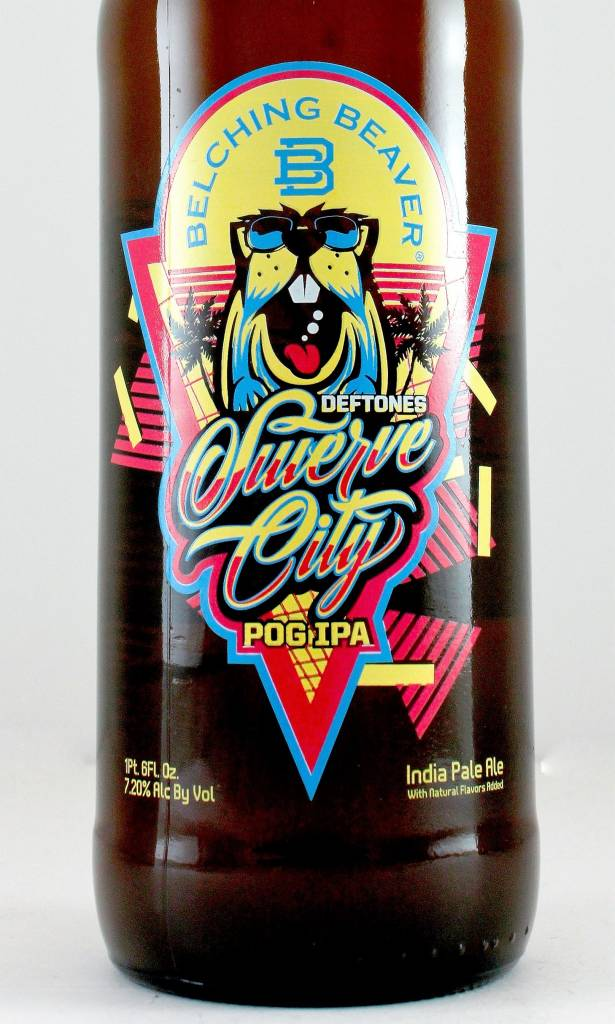 """Belching Beaver Brewery """"Swerve City"""" POG India Pale Ale, Oceanside"""