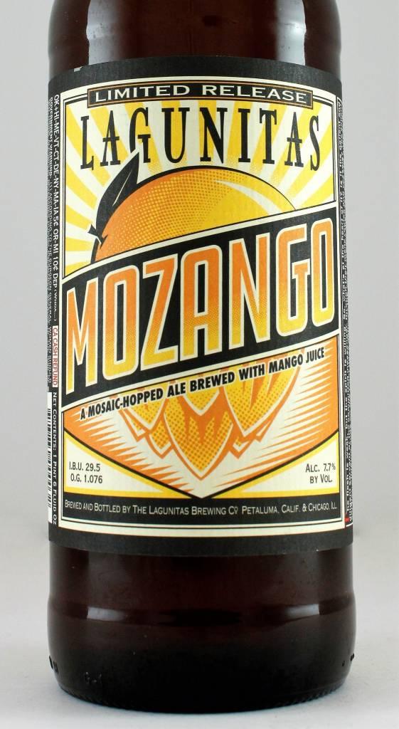 "Lagunitas Brewing ""Mozango"" Masaic-Hopped Ale with Mango, California"