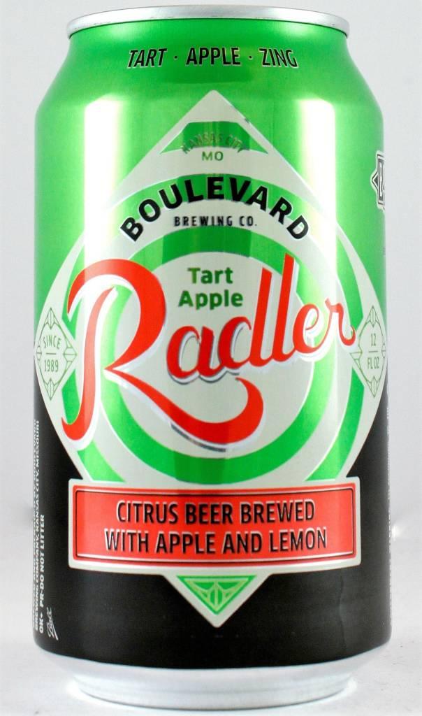 "Boulevard Brewing ""Tart Apple Radler"", Missouri - 12oz can"