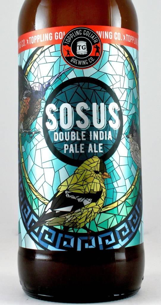"Toppling Goliath ""Sosus"" Double India Pale Ale, Iowa"
