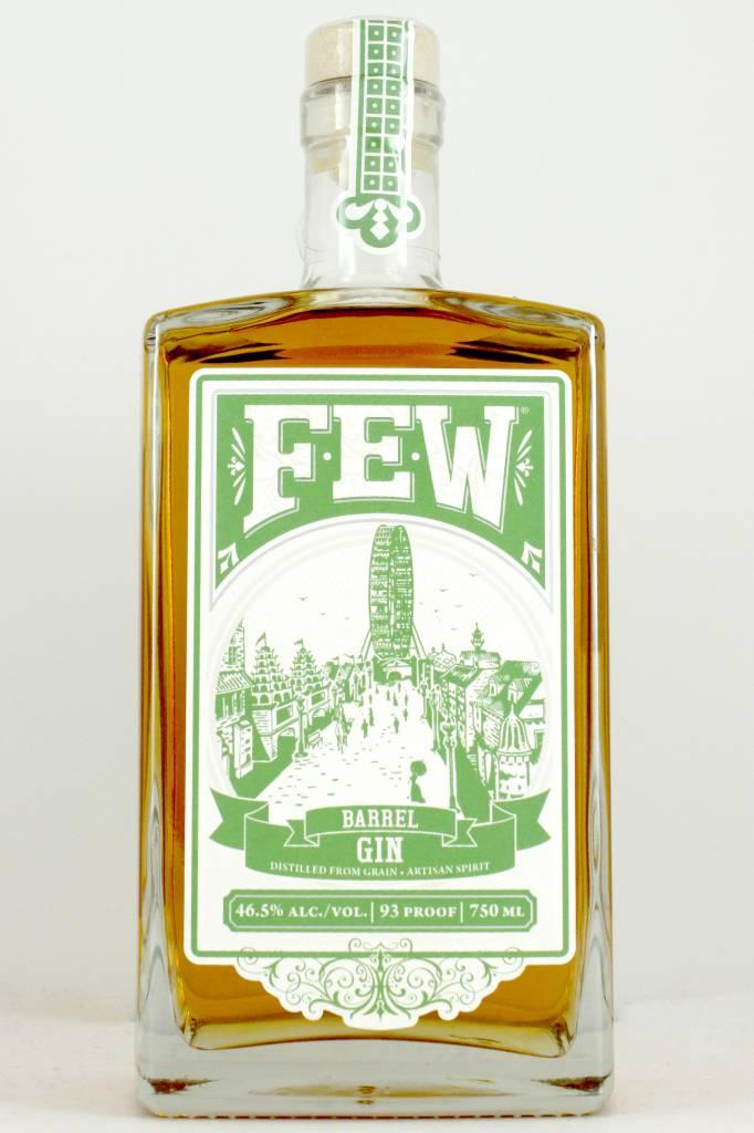 FEW Barrel-Aged Gin, Evanston, Illinois