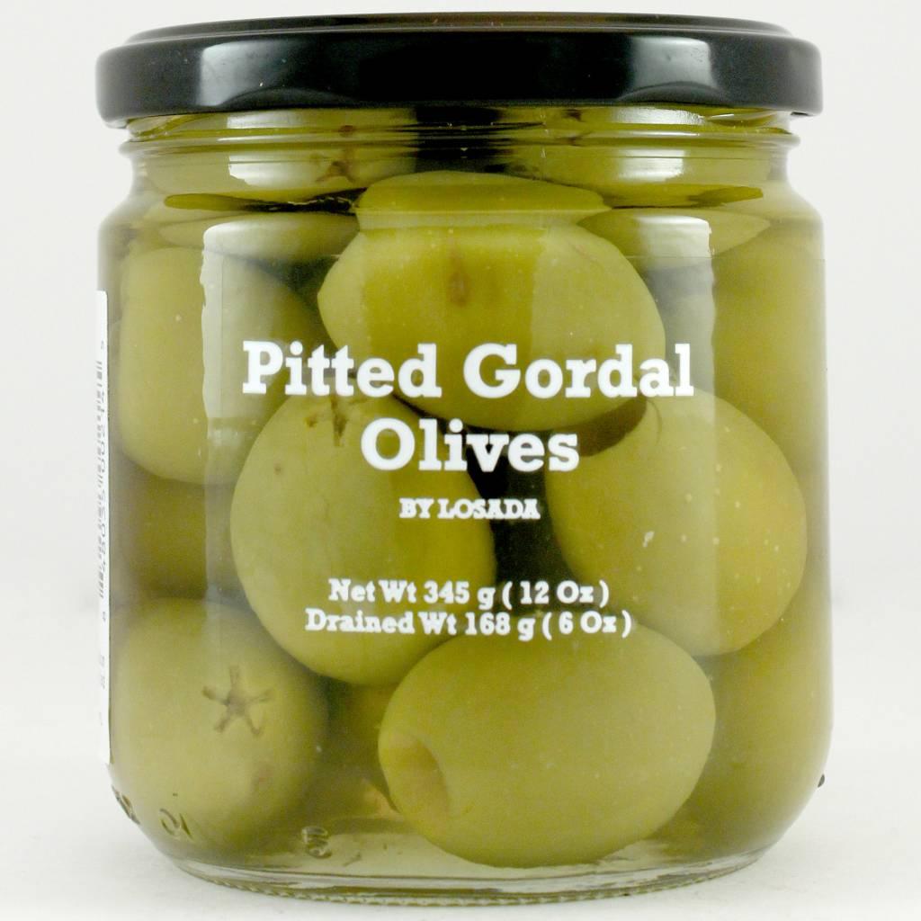 Losada Pitted Gordal Olives 12oz.
