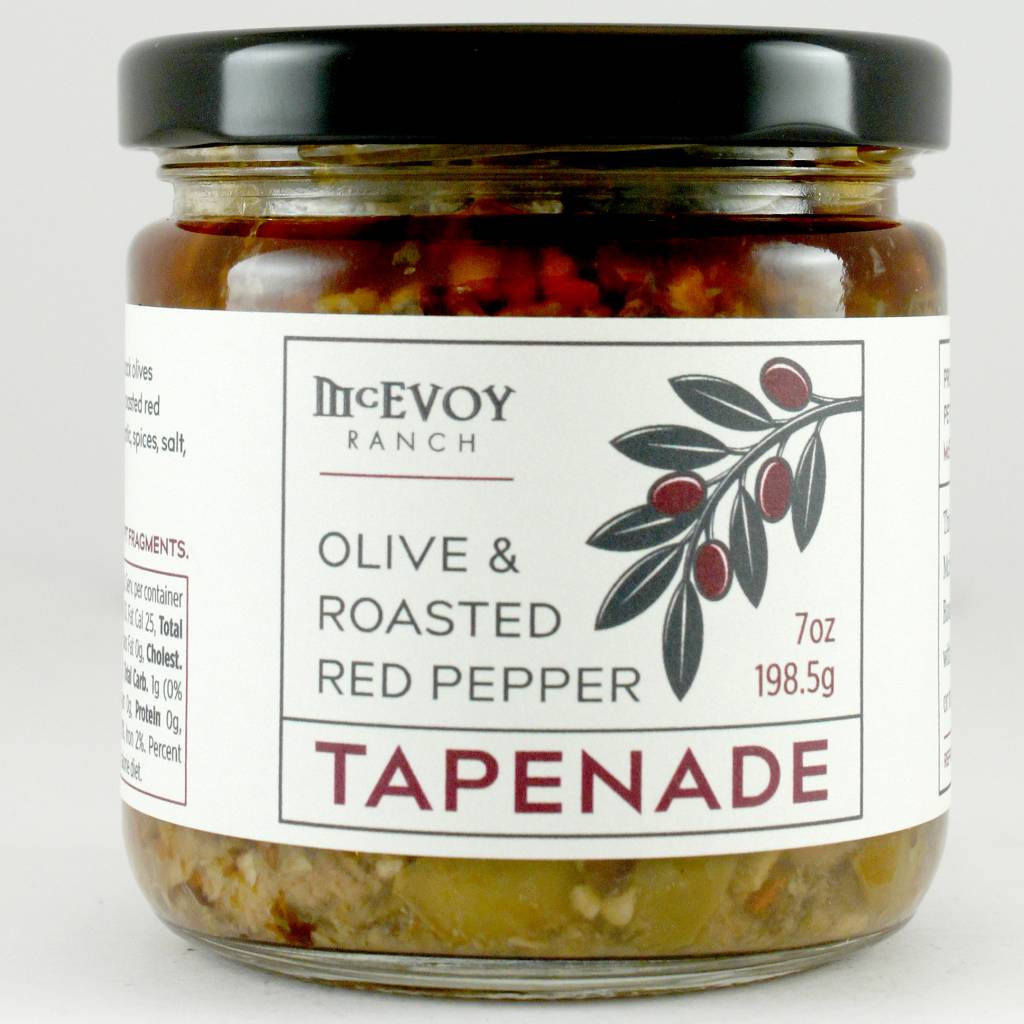 McEvoy Ranch Olive & Roasted Red Pepper Tapenade Marin, California