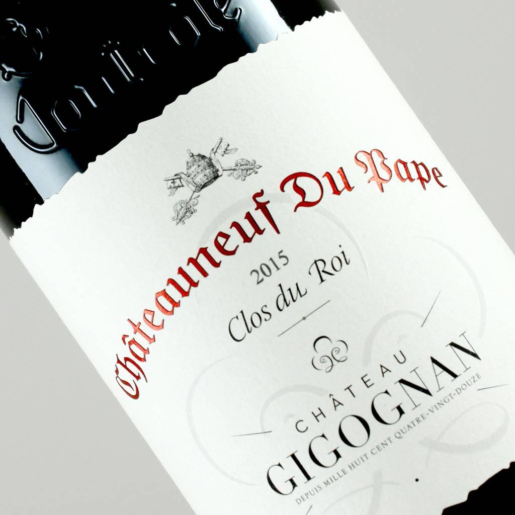 "Chateau Gigognan 2015 Chateauneuf Du Pape ""Clos du Roi"", Rhone"