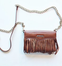 Rebecca Minkoff Brown Fringe Crossbody