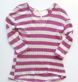 Purple Sweater Gold Threading (M)
